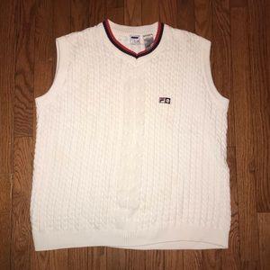 Vintage Fila Tennis Sweater Size XXL EUC